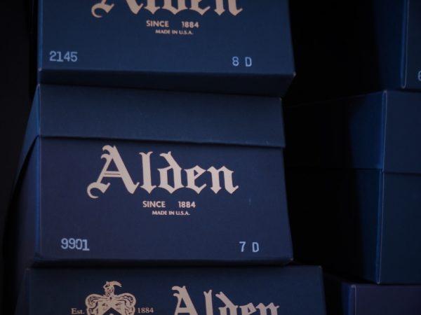 オールデンのオリジナルグリーンボックス