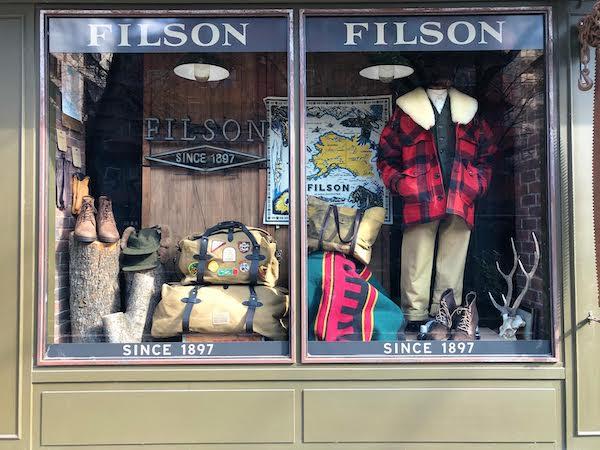 中目黒のフィルソンの画像