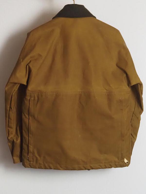 Tin cloth field jacket背面写真
