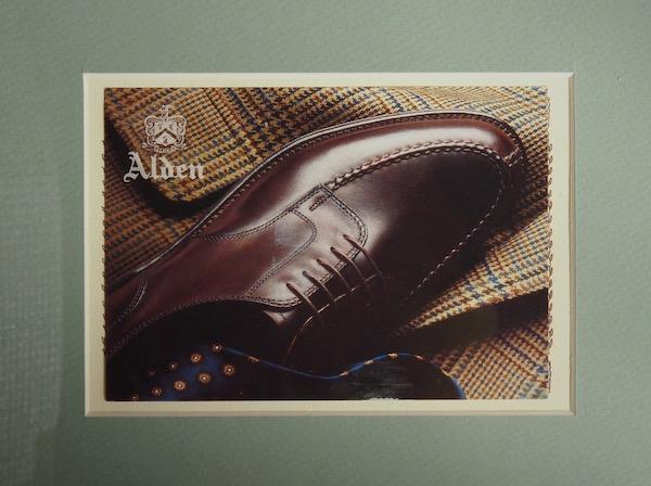 オールデンの靴の画像