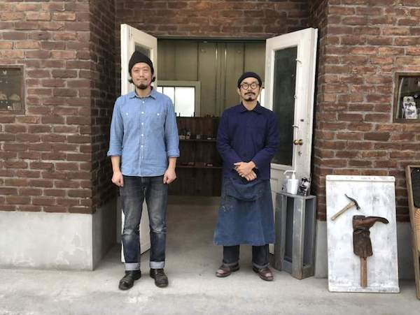 ラジアン杉浦氏と清水店長の画像