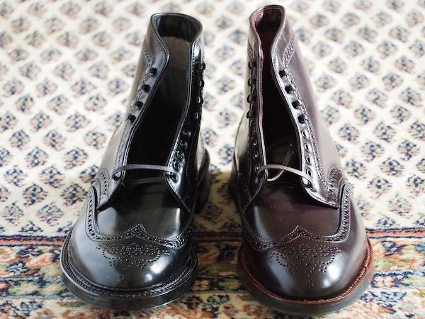 Alden Wing Tip Boots