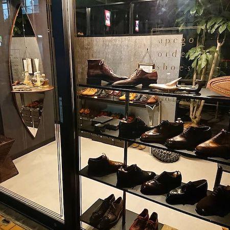 apego order shoesの外観